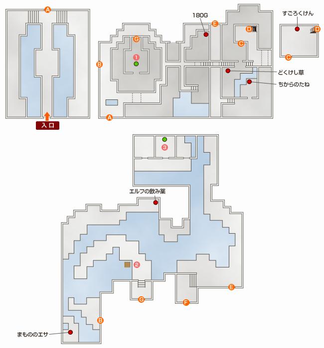 古代の遺跡マップ