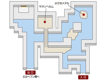 海の神殿 マップ