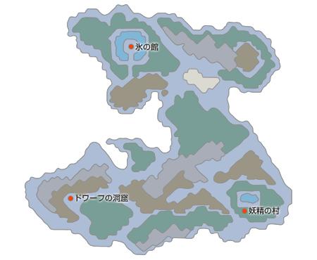 妖精の世界マップ(少年時代)